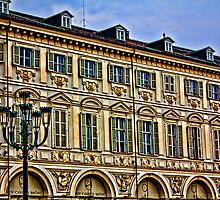 Turin - palace in San Carlo square  by becks78