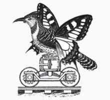 The Lesser Peckerbutter Wheelie by JulieHallDesign