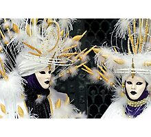 Venice - Carnival  Mask Series 01 Photographic Print