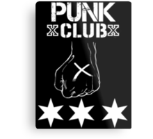 Punk Club T - Shirt Metal Print