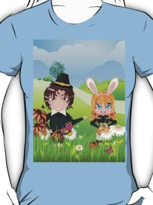 Easter Boy and Girl 3 T-Shirt
