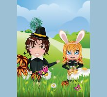 Easter Boy and Girl 3 Unisex T-Shirt