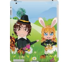 Easter Boy and Girl 3 iPad Case/Skin