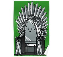 The REAL Iron Throne Poster