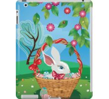 Easter Bunny and Grass Field 2 iPad Case/Skin