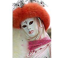 Venice - Carnival  Mask Series 03 Photographic Print