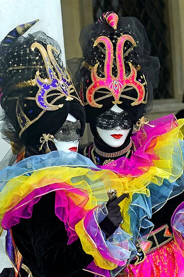 Venice - Carnival  Mask Series 04 by paolo1955