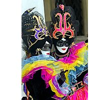 Venice - Carnival  Mask Series 04 Photographic Print