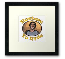 70s Show - Nowhere To Hyde #3 Framed Print
