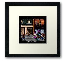 Double Dragon  Framed Print