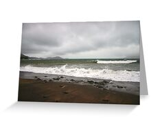 Kerry Beach in Winter Greeting Card