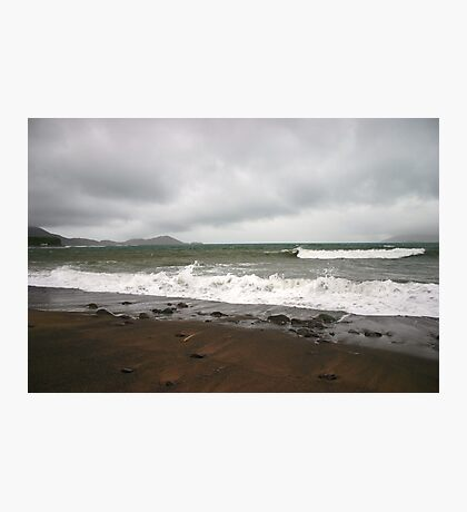 Kerry Beach in Winter Photographic Print