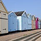 Beach colours by Julie M Gibson