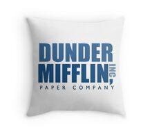 Dunder Mifflin The Office Logo Throw Pillow