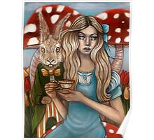 Alice and the March Hare Poster