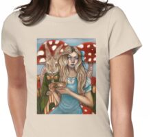 Alice and the March Hare Womens Fitted T-Shirt