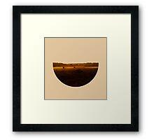 Skyless Composition 2 | Seven Framed Print