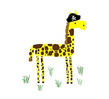 Giraffing Around Photographic Print