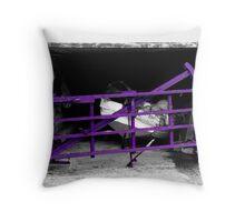 purple gate ... Throw Pillow
