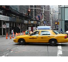 Busy New York Street Photographic Print