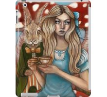 Alice and the March Hare iPad Case/Skin