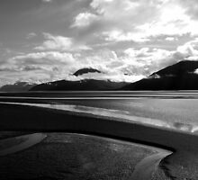 Might I retreat with you Dear Water (Seward HWY, Alaska) by Jenny Miller