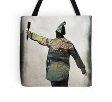 Painting white walls Tote Bag