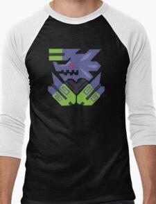 Brachydios Monster Hunter Print Men's Baseball ¾ T-Shirt