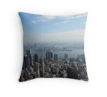 View from the Empire State Building Throw Pillow