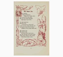 The Old Garden and Other Verses by Margaret Deland and Wade Campbell, Illustrated by Walter Crane 1894 57 - The Sweet Pea One Piece - Long Sleeve