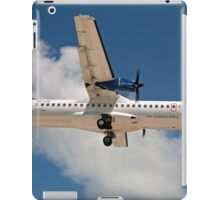 Liat the Caribbean airline over Maho Beach in St Maarten iPad Case/Skin