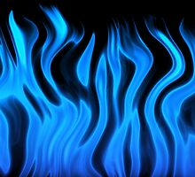 blue flame by bobstudio