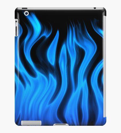 blue flame iPad Case/Skin