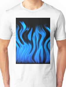 blue flame Unisex T-Shirt