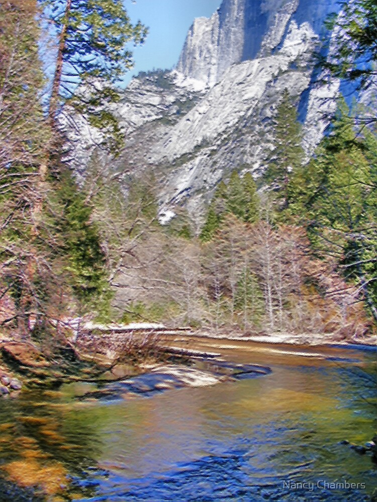 Tanaya Creek ~ Digital Painting by NancyC