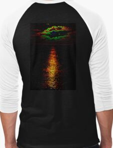 The Sunset Collection-Irish Design Men's Baseball ¾ T-Shirt
