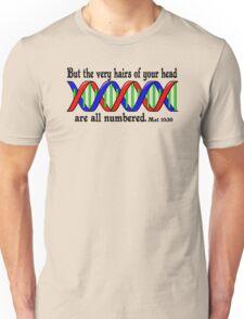 Mat 10:30 DNA  Unisex T-Shirt