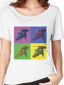 Rex Pop art Women's Relaxed Fit T-Shirt