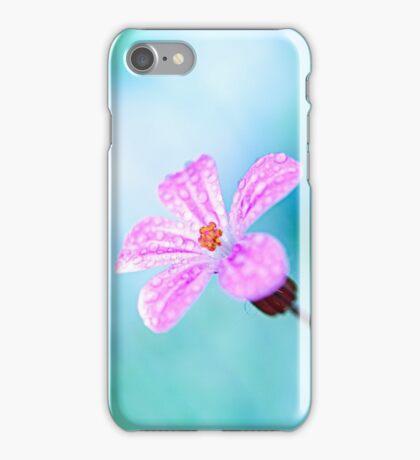 wild cranesbill iPhone Case/Skin