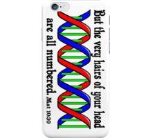 Mat 10:30 DNA  iPhone Case/Skin