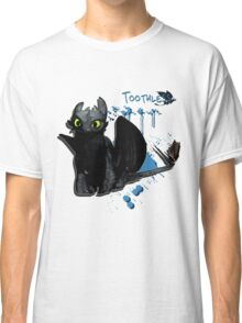 How to train your dragon - Toothless Splatter Classic T-Shirt
