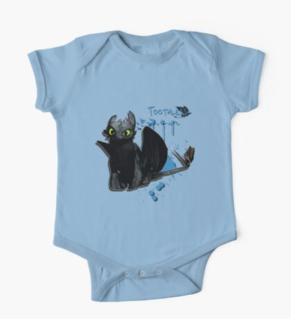 How to train your dragon - Toothless Splatter One Piece - Short Sleeve