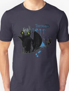 How to train your dragon - Toothless Splatter Unisex T-Shirt