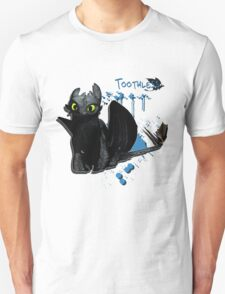 How to train your dragon - Toothless Splatter T-Shirt