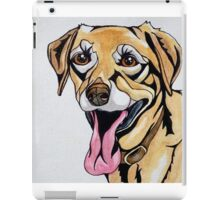 #1: DICE the Yellow Lab: Messages from the Dogs Oracle Deck iPad Case/Skin