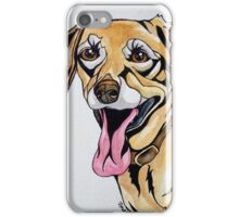 #1: DICE the Yellow Lab: Messages from the Dogs Oracle Deck iPhone Case/Skin