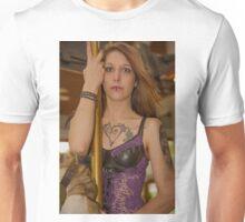 Savvii Rides a Carousel Unisex T-Shirt