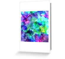 watercolor texture Greeting Card