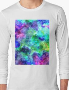 watercolor texture Long Sleeve T-Shirt