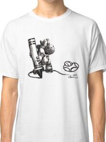 Yoshi Ink Doodle Classic T-Shirt